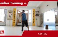 Teacher Training 10 – Styles (Teacher Training Students only)
