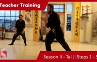 Teacher Training Season 2 – 01 Tai Ji Steps 1 – 5